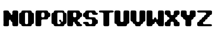 pix punk Font UPPERCASE