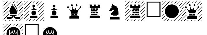 PIXymbols Chess Regular Font UPPERCASE