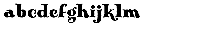Pickworth Old Style Regular Font LOWERCASE