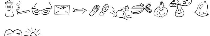 Picto Handwriting Regular Font UPPERCASE