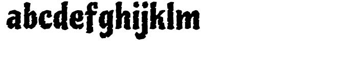 Piedra Regular Font LOWERCASE