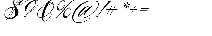 Piel Script Redux Font OTHER CHARS