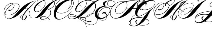 Piel Script Redux Font UPPERCASE