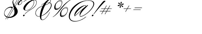 Piel Script Regular Font OTHER CHARS
