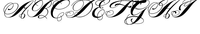 Piel Script Regular Font UPPERCASE