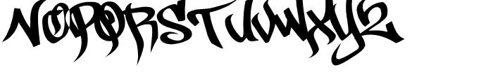 Pilot Rase Regular Font UPPERCASE