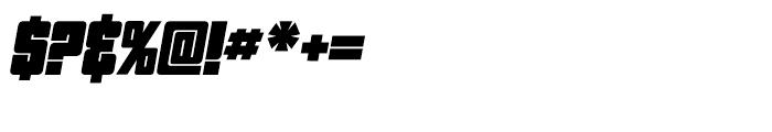 Pincoya Black Pro Italic Font OTHER CHARS