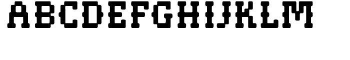 Pistol Shot Normal Font UPPERCASE