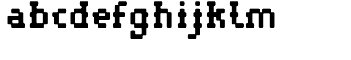 Pistol Shot Normal Font LOWERCASE