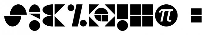 PIR^2 Regular Font OTHER CHARS