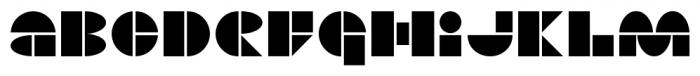 PIR^2 Regular Font LOWERCASE