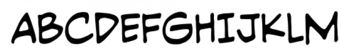 PiekosProfessional BB Regular Font UPPERCASE