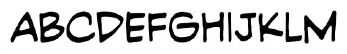 PiekosProfessional BB Regular Font LOWERCASE
