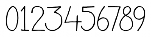 Pisang Regular Font OTHER CHARS