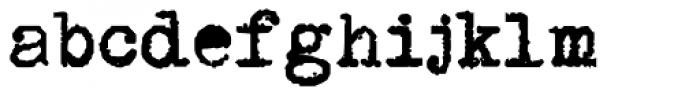PI Bold Font LOWERCASE