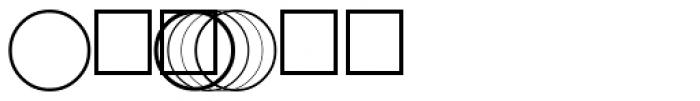 PIXymbols Acircle Regular Font OTHER CHARS