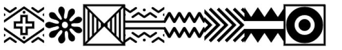 PIXymbols Africa Regular Font OTHER CHARS
