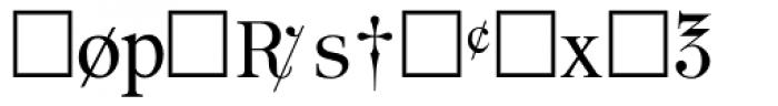 PIXymbols Apothecary Regular Font LOWERCASE