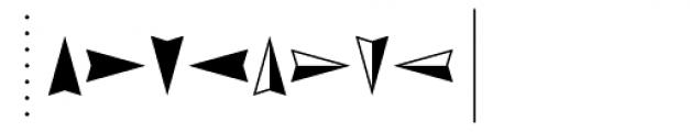 PIXymbols Arrows Regular Font OTHER CHARS