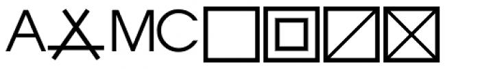 PIXymbols Astro Italic Font LOWERCASE
