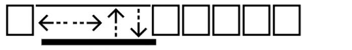 PIXymbols Boxkey Bold Font OTHER CHARS