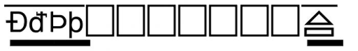 PIXymbols Boxkey Bold Font LOWERCASE