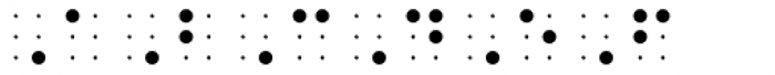 PIXymbols BrailleReader Regular Font UPPERCASE