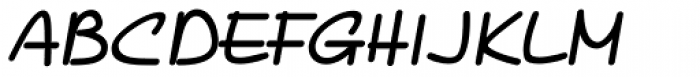 PIXymbols Casual Bold Italic Font UPPERCASE