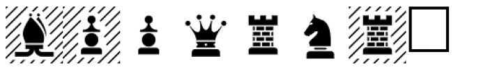 PIXymbols Chess Regular Font UPPERCASE