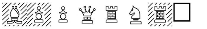 PIXymbols Chess Regular Font LOWERCASE