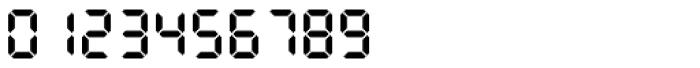 PIXymbols Clocks Bold Font OTHER CHARS