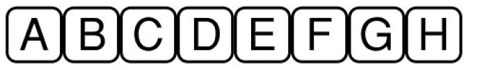 PIXymbols Command Regular Font UPPERCASE