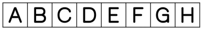 PIXymbols Crossword Font LOWERCASE