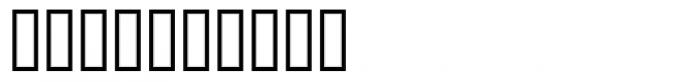 PIXymbols DOS Screen Regular Font OTHER CHARS