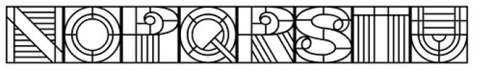 PIXymbols Deco Glass Font LOWERCASE