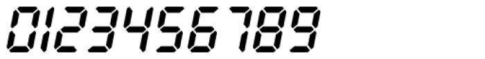 PIXymbols Digit Bold Italic Font OTHER CHARS