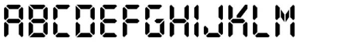 PIXymbols Digit Bold Font UPPERCASE