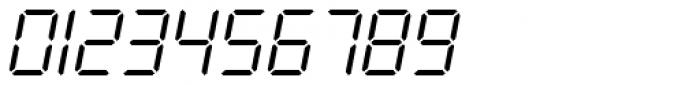 PIXymbols Digit Italic Font OTHER CHARS