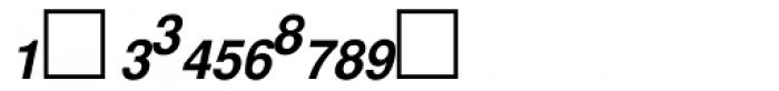 PIXymbols Fractions Bold Italic Font UPPERCASE