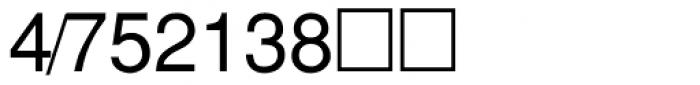 PIXymbols Fractions Regular Font OTHER CHARS