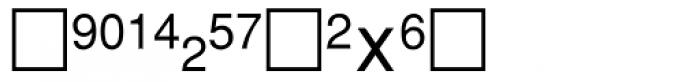 PIXymbols Fractions Regular Font UPPERCASE