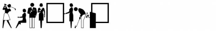 PIXymbols Meeting Regular Font OTHER CHARS