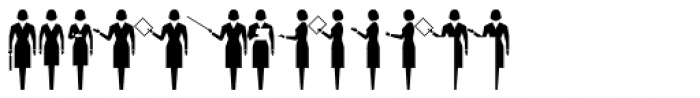 PIXymbols Meeting Regular Font UPPERCASE