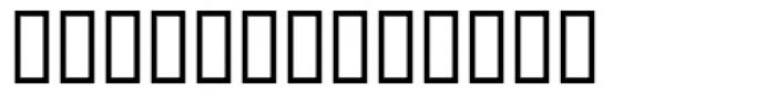PIXymbols Orchestra Roman Font UPPERCASE