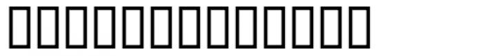 PIXymbols PCx Symbol Font LOWERCASE