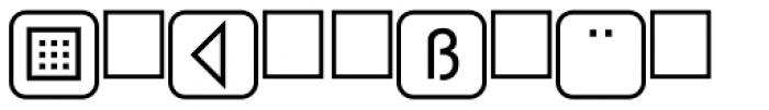 PIXymbols PasskeyTwo Bold Font LOWERCASE