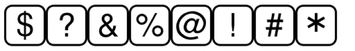 PIXymbols PasskeyTwo Regular Font OTHER CHARS