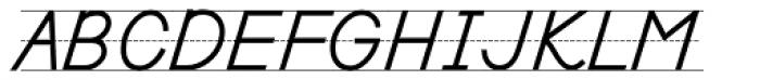 PIXymbols Primer D Bold Italic Font UPPERCASE
