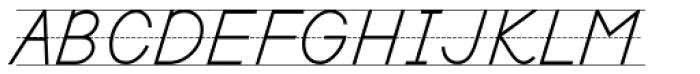 PIXymbols Primer D Italic Font UPPERCASE