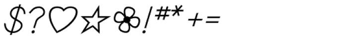 PIXymbols Primer D Regular Font OTHER CHARS